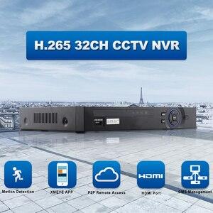 Image 2 - Full Hd 1080P H.265 32 Kanaals Cctv Nvr 25CH 5MP 8CH 4K Nvr 2 Sata Hdd Xmeye Onvif p2P Hdmi Vga Cctv Video Recorder 3G Wifi
