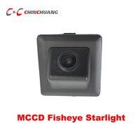MCCD Fisheye Starlight Car Backup Reverse Camera for Toyota Land Cruiser Prado LC150 LC 150 Auto Parking Rear View System Camera