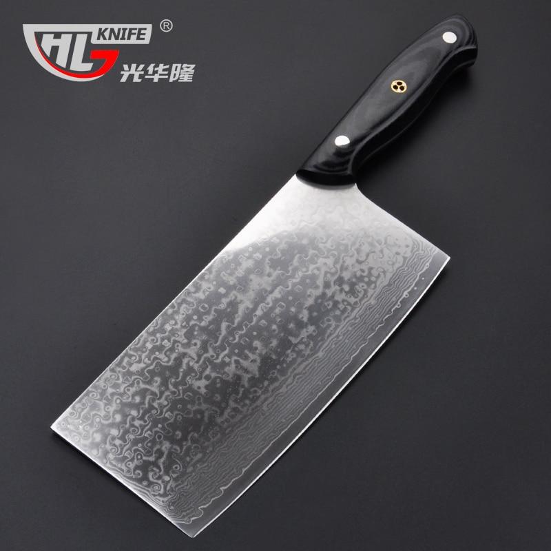 2016 GHL chef font b knives b font high quality fashion Japanese VG10 Damascus steel kitchen