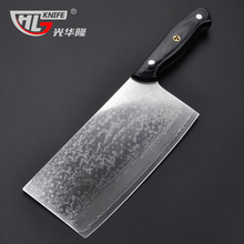 2016 GHL chef knives high quality fashion Japanese VG10 Damascus steel kitchen knife with Micarta handle Free shipping