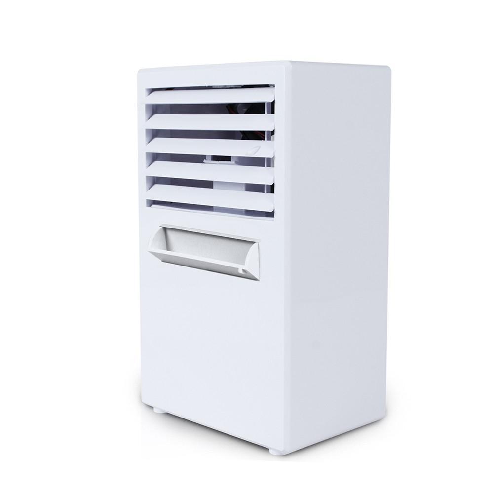 Adoolla UE/US Plug Bureau Mini Climatiseur Ventilateur Humidificateur Hydratant Dispositif avec mise hors Tension Automatique Fonction