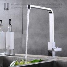 Блаватская Поворотный Кухня Раковина кран хром закончил, площадь одного холодной водопроводной воды на бортике Современные Стиль torneira HP9107