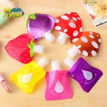 1 stks Mooie Reizen Draagbare Mini Handdesinfecterend Shampoo/Make Vloeistof Fles Badkamer Producten Verpakking Flessen