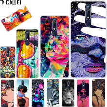 hot deal buy 5.5'' for nokia 5.1 case soft tpu back cover for nokia 5.1 case cool girl silicone cover for nokia 5.1 2018 case para painting