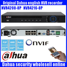 Original Dahua 8POE NVR DHI-NVR4208-8P DHI-NVR4216-8P 8/16CH NVR for Dahua IP Camera Support Talk HD 5MP NVR4216-8P NVR4208-8P
