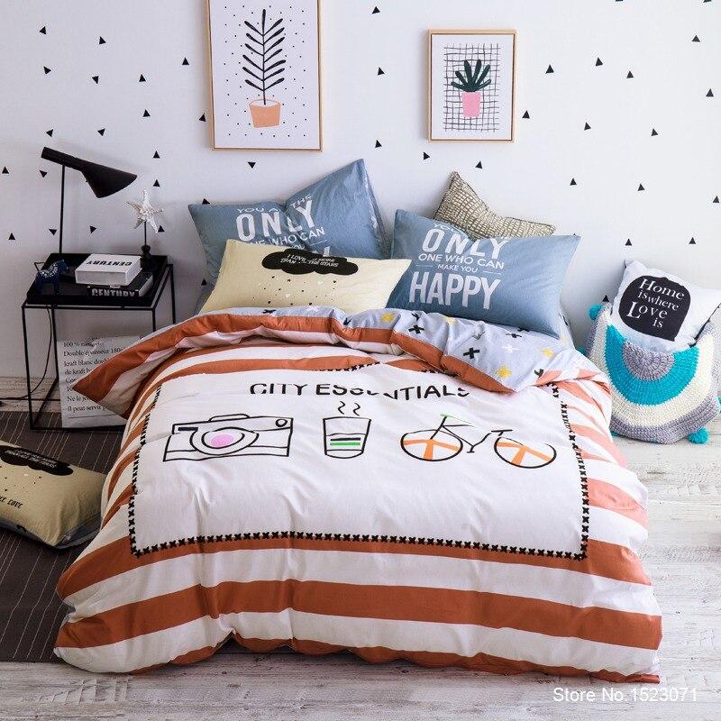 Kaunite mustritega voodipesukomplektid