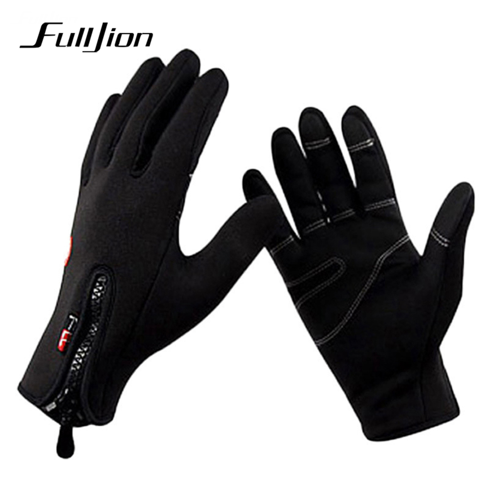 Fulljion fishing gloves black anti slip winter warmth for Winter fishing gloves