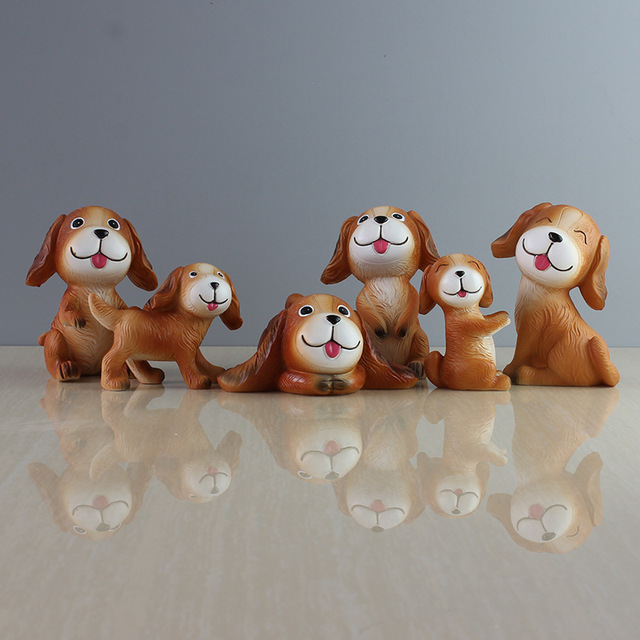 Xxxg The Ugly Dog Resin Handicrafts Home Furnishing Adorable Couple