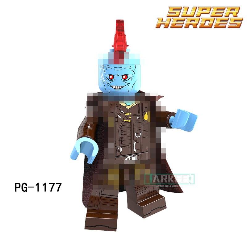 Single Sale Building Blocks  PG1177 Yondu Guardians Of The Galaxy Movies Figures Marvel Super Heroes Funny Dolls Toys Hobbies marvel platinum definitve guardians of the galaxy reloaded