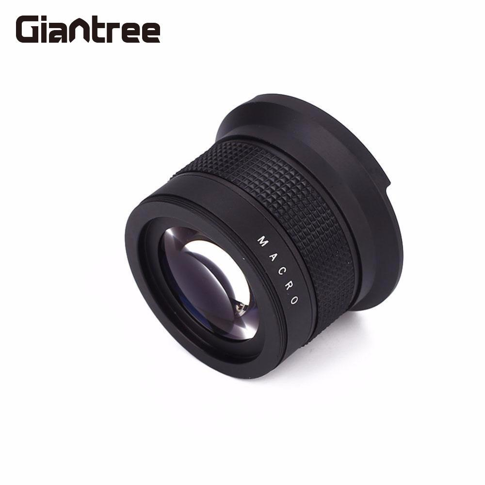 giantree Telephoto Lens 58mm 2.0X Magnification Camcorder Accessories Lens Natural Photos High Speed Lens for nikon