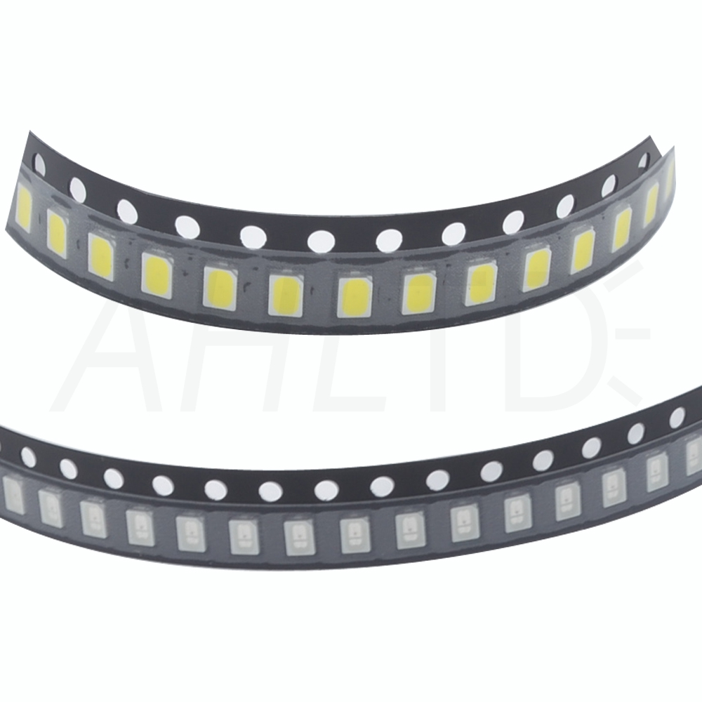Ahltd Wholesale 500pcs 3020 White Ultra Bright Chip 800-1000LM 100,000hrs 6000~6500K Surface Mount SMT LED Light Emitting Diode Lamp