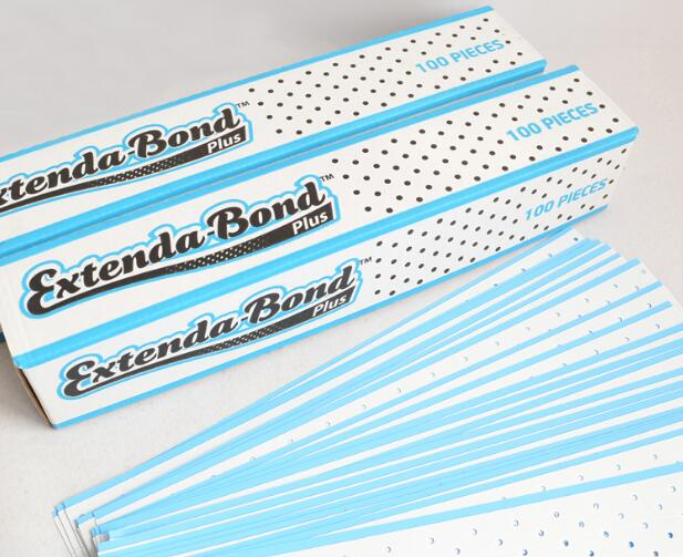 Walker Extenda Bond Plus Double Sided Tape Tabs with Breathing Holes Blue Liner Adhesive for Lace