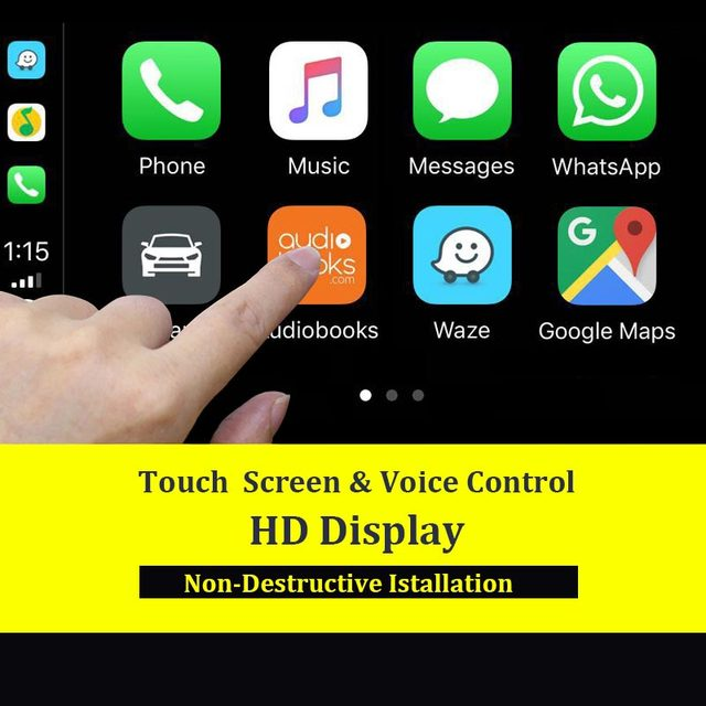 Carlinkit USB Apple Carplay Dongle for Android Auto iPhone