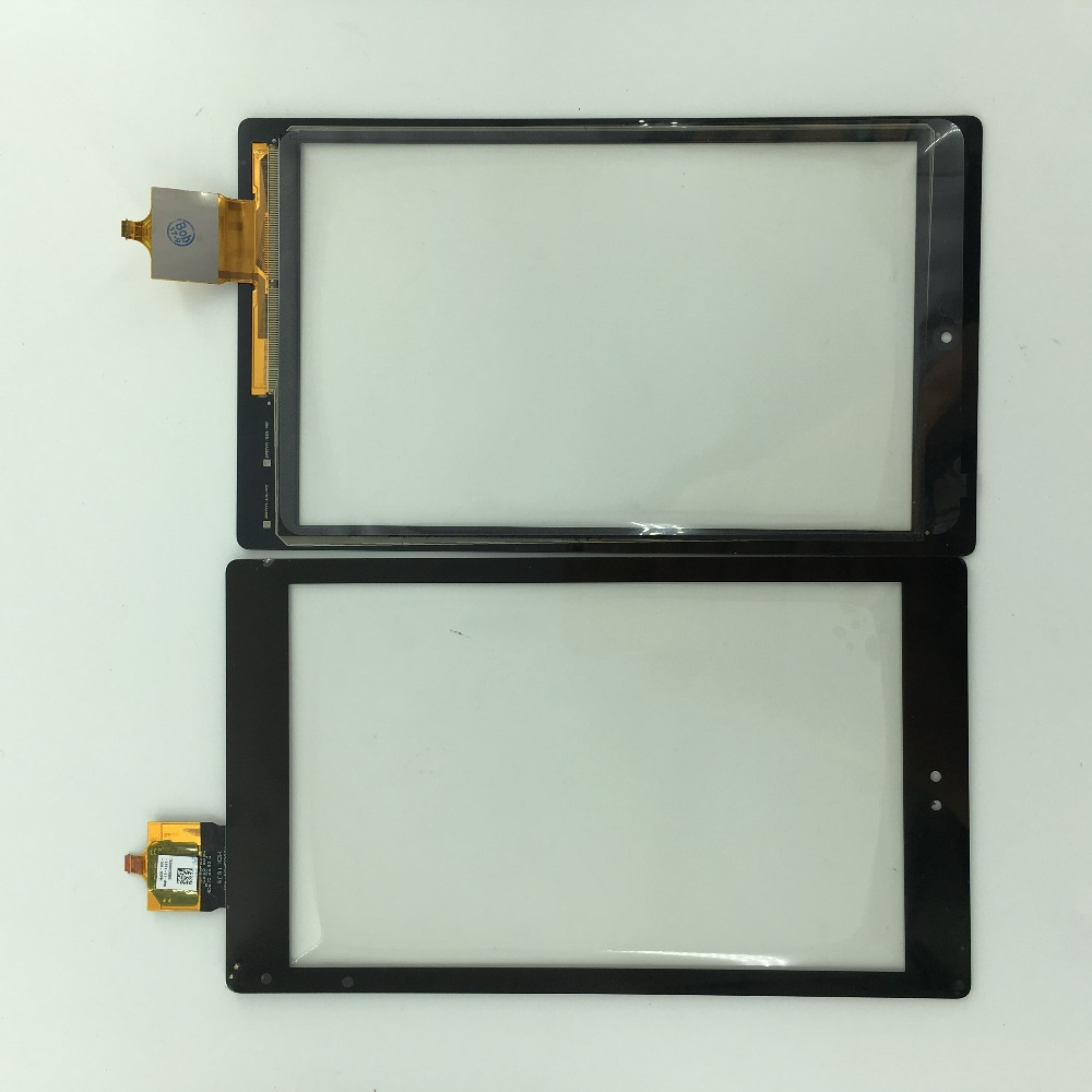 8 спереди Сенсорный экран Панель внешнее стекло Сенсор объектив Запасные части для Amazon Kindle Fire HD8 HD 8 6th поколения MEK1636