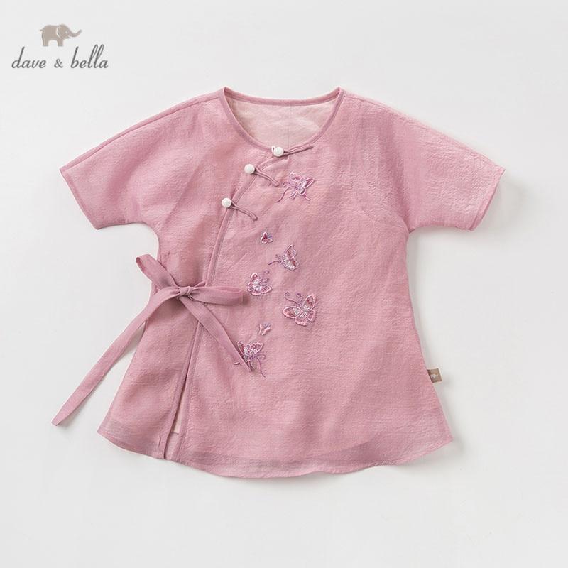 1613008013 DBJ11311 dave bella summer baby girl's princess cute butterfly dress  children party wedding fashion dress kids infant clothes