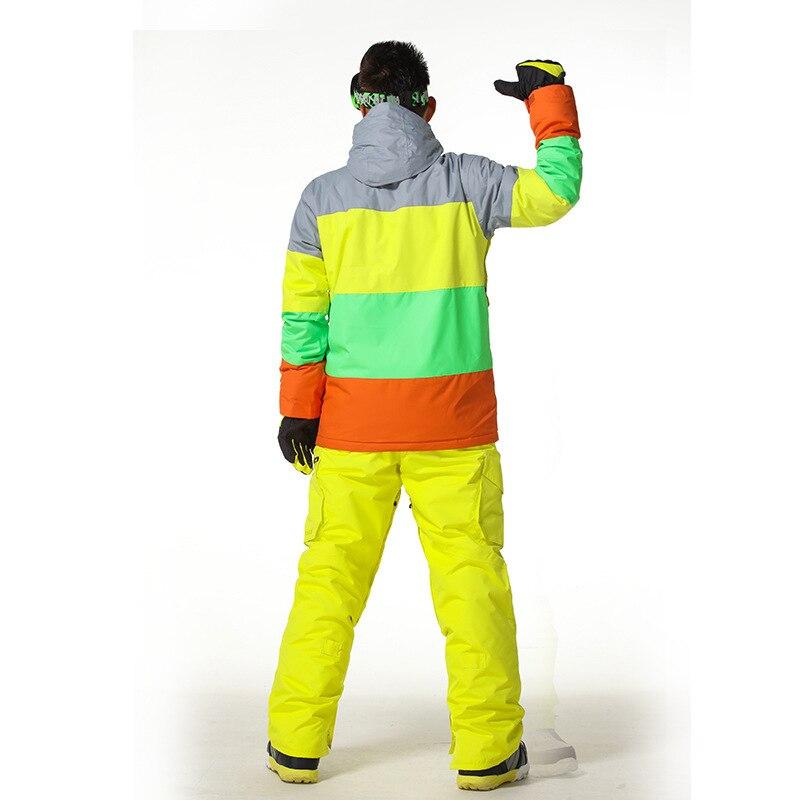 GSOU NEIGE hommes combinaison de ski pour homme simple et double conseil ski 1403-002 - 2