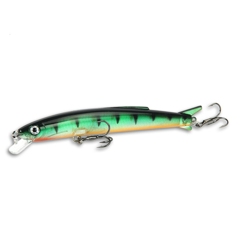 Ufishing Bass Minnow Lure Long Casting Fishing Lures 11cm 13g Pike Artificial Bait 1 Pcs/Lot Floating Hard Bait allblue slugger 65sp professional 3d shad fishing lure 65mm 6 5g suspend wobbler minnow 0 5 1 2m bass pike bait fishing tackle