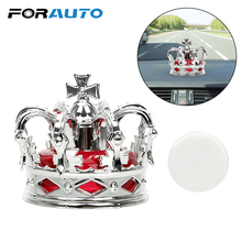Car Air Freshener Crown Car Perfume Aromatherapy Ornament Dashboard Decoration Fruit Fragrance Auto Accessories Car-styling