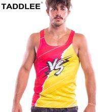 4760125ef3da7 Taddlee Marque de Mode Nouveau Hommes Débardeur Sport Courir T-shirts Sans  Manches Gasp Fitness Stringer maillots Muscle Gilets