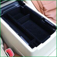 Carro-styling Interior Pallet Armazenamento Container Caixa Apoio de Braço Central Para Toyota Camry V50 V55 2012 2013 2014 2015 2016