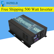 Reliable Pure Sine Wave Inverter UPS and charging function 500W outdoor home frequency inverter with charger 500w 12vdc 220vac pure sine wave inverter without ac charge home inverter