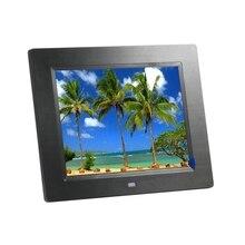 New 8 inch LED 800*600 HD Screen Digital Photo Frame Photo Music MP3 Video MP4 Free Shipping – Black / White