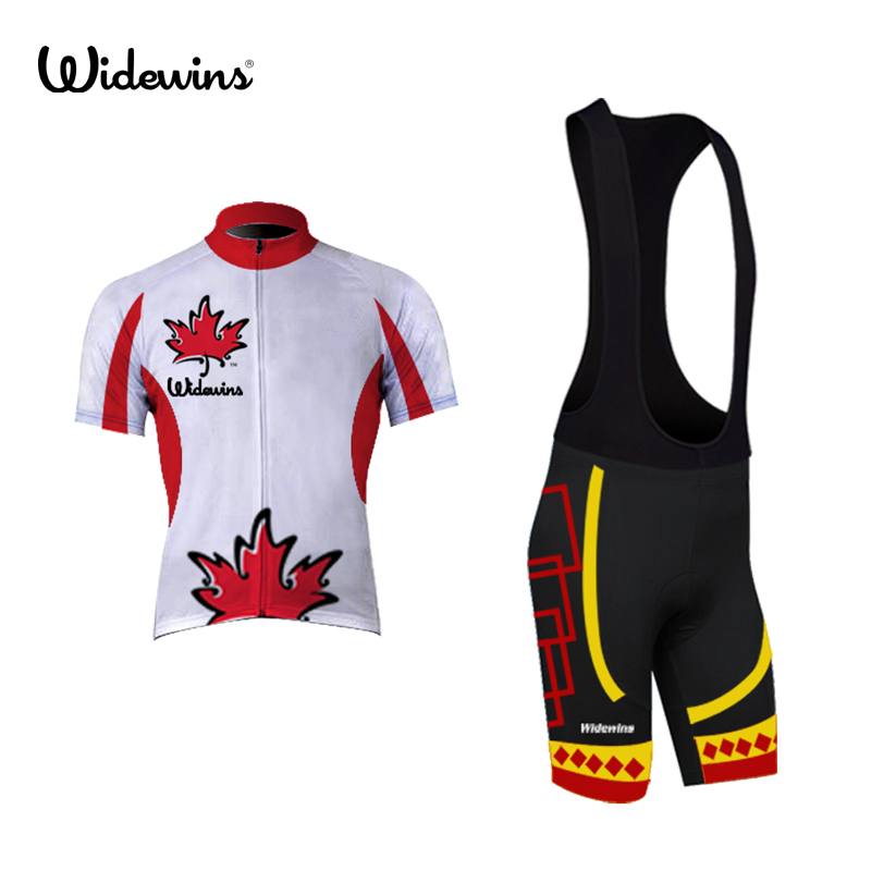 cycling jersey equipment Canada 2018 pro cycling clothing dry fit cool high visibility ropa ciclismo Maple leaves 5016