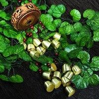 Amazing Yunnan Ethnic Crafts Classic 19 Bells Windchime Copper Coins Bells Carborundum Discs Wind Chimes Door