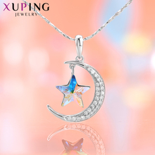 Xuping Star Shape Pendant Crystals from Swarovski  Romantic Jewelry Valentines Day Gifts for Girls Women M3/ M4 /M7/ M51-40092