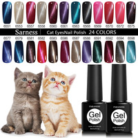 Paraness Magnetic 3D Cat Eyes Gel Polish LED UV Soak-off Gel Nail Polish UV Nail Gel Polish UV Gel Varnish Nail Art