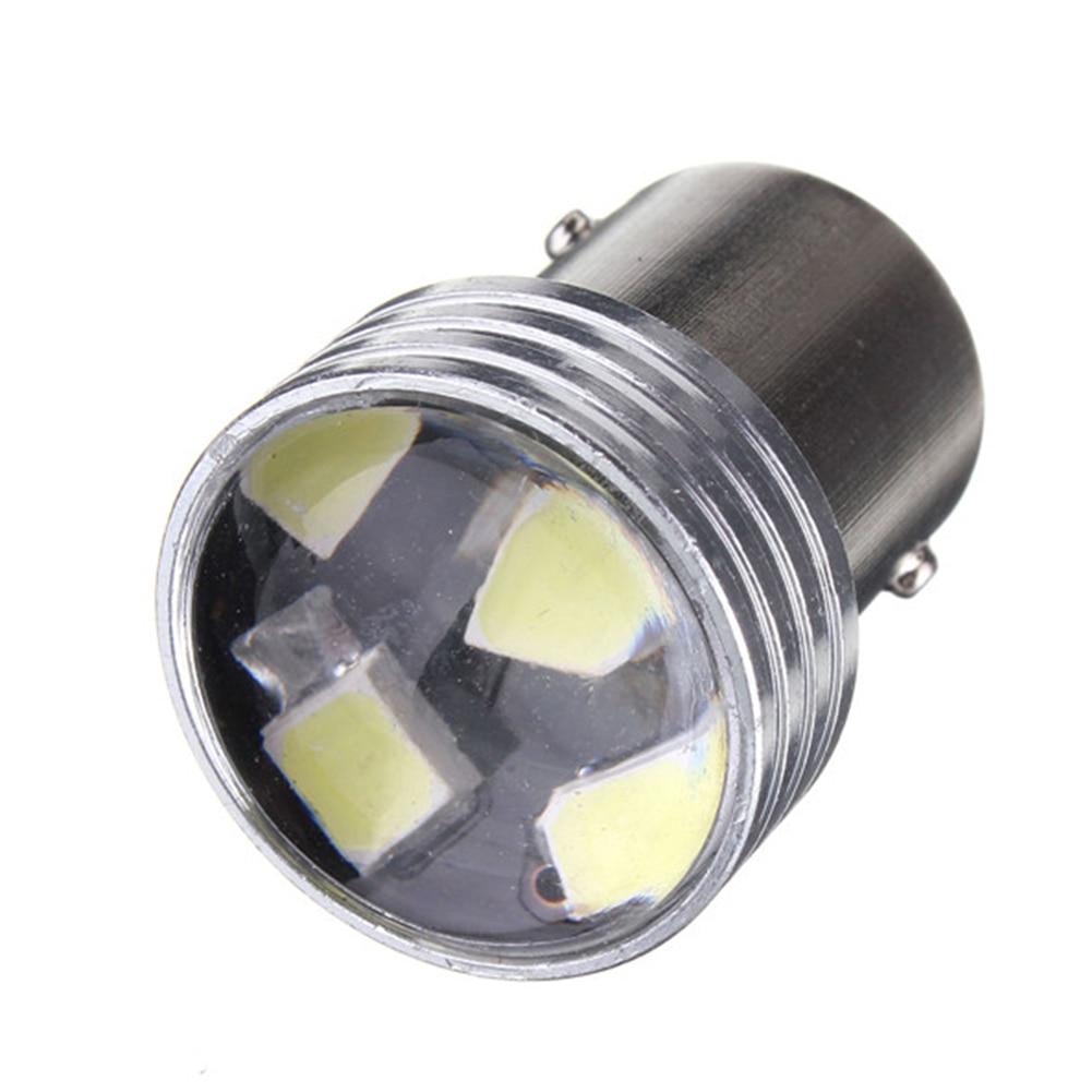 White 1156 P21W 6 LED 2835 SMD Projector Car Auto Light Source Backup Bulb DC12V