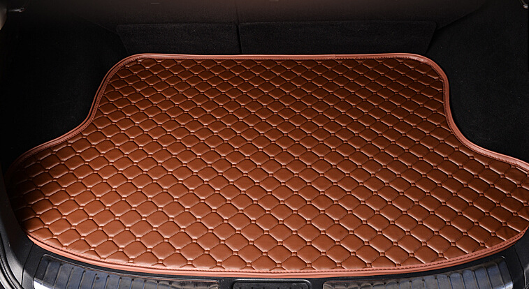 Car Styling Car Trunk Mats for FIAT Viaggio Trunk Liner Carpet Floor Mats Tray Cargo Liner Waterproof 4 Colors Optional