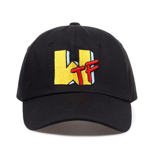 64dad28d 2018 new WTF letter embroidery dad Hat men women summer Baseball Cap  fashion Hip-hop snapback cap hats