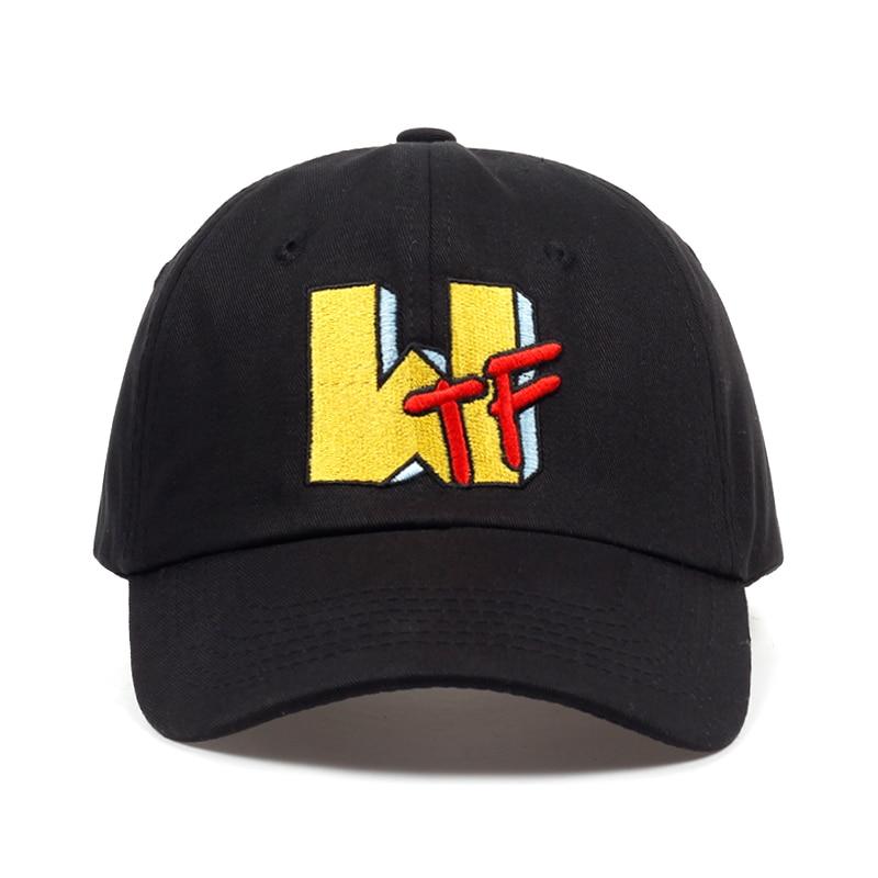 2018 new WTF letter embroidery dad Hat men women summer   Baseball     Cap   fashion Hip-hop snapback   cap   hats