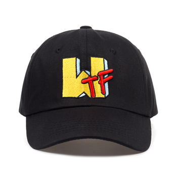 2018 nueva gorra de béisbol de verano con bordado de letras WTF para  hombres y mujeres 2baa93a45ec