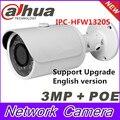 Dahua Original English version firmware upgradable IPC-HFW1320S 3MP 1080P IP POE Onvif outdoor IR Network CCTV security Camera