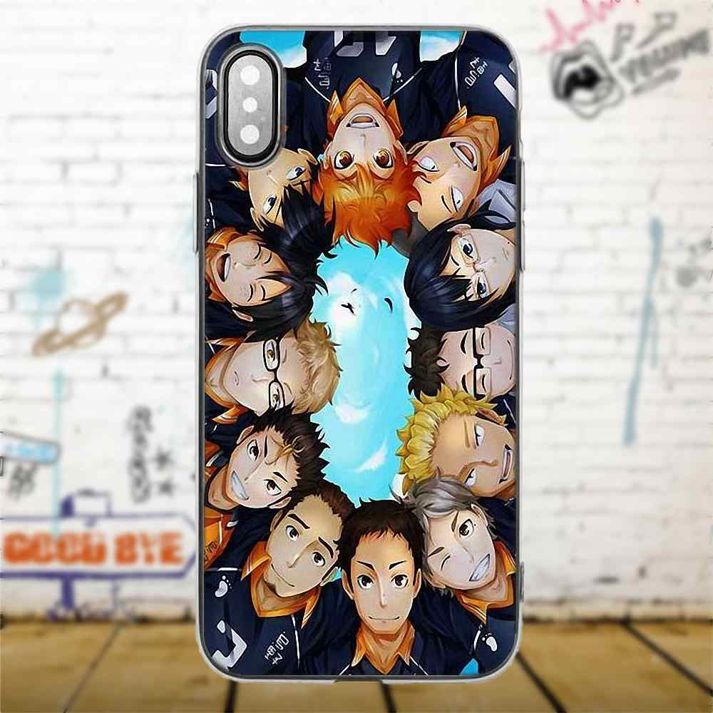 Bixedx Haikyuu Hinata атака аниме для Xiao mi Red mi 5 4A 3 3 S Pro mi 4 mi 4i mi 5 mi 5s mi Max Mix 2 Note 3 4 Plus TPU чехол для телефона