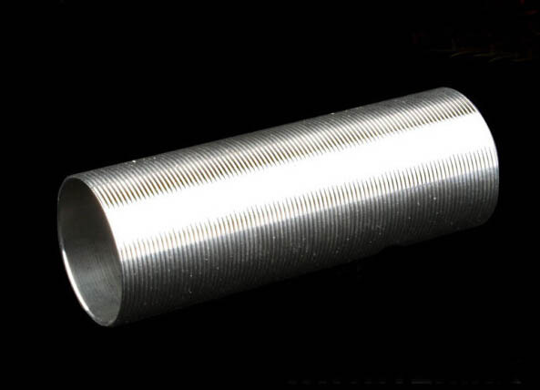Stainless Steel Heat dissipation Cylinder Type-1 for inner Barrel length 455 - 509 Airsoft AEG smooth inner wall цена