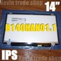 14 inch B140HAN01.2 LP140WF1 SPB1 B140HAN01.3 B140HAN01.0 B140HAN01.1 For thinkpad  L440 T440 screen 1920*1080 ips 30pin