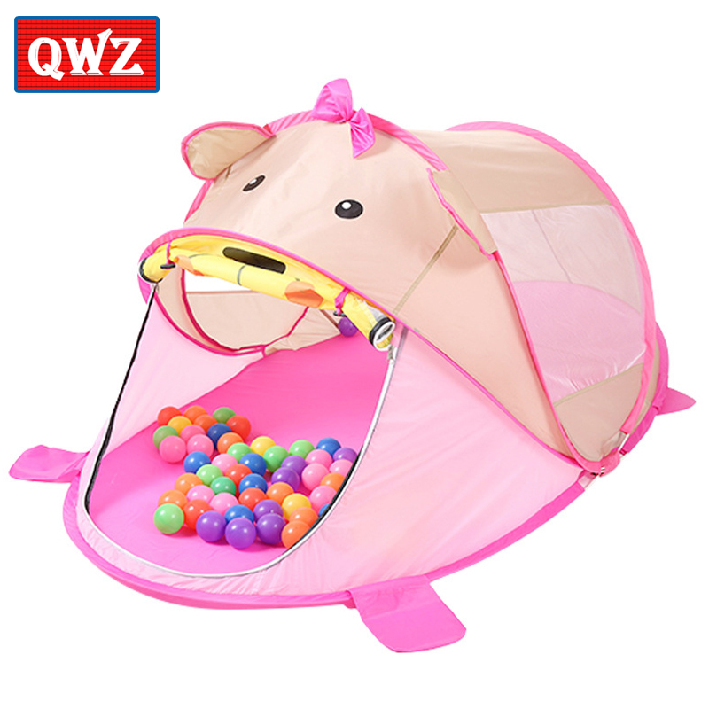 Aliexpress.com  Buy QWZ Cartoon Animal Toy Tents Children House Kids For Tent Indoor Outdoor Play Tent Folding Baby Tent Cute Ball Pool Kids Gifts from ...  sc 1 st  AliExpress.com & Aliexpress.com : Buy QWZ Cartoon Animal Toy Tents Children House ...