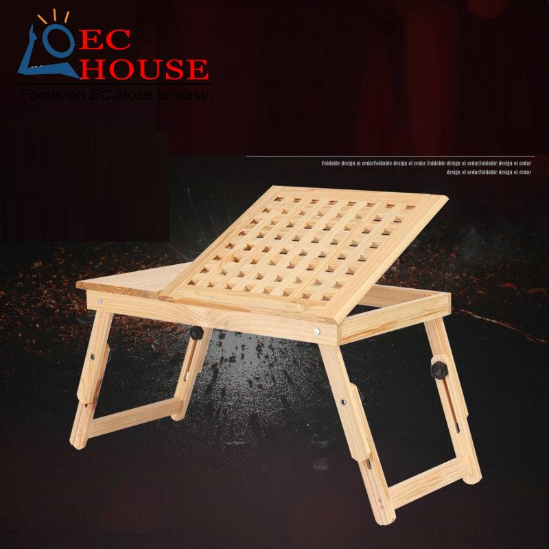 ФОТО Wood notebook comter folding on the table lazy bed dormitory students learning a small desk. FREE SHIPPING