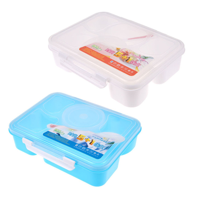 Lunch Box 5+1 Food Container useful gadgets