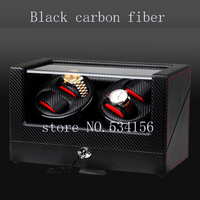 Free shipping wooden watch winder with high gloss piano paint, automatic watch winder organizer, 2018new watch show jewelry box