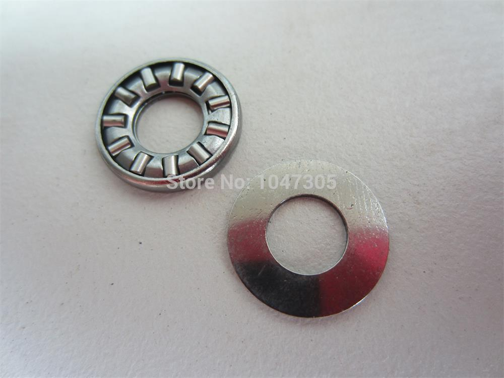 Thrust needle roller bearing with  washer AX3553+CP3553 Size is 35*53* ( 2.8+0.8 ) mm