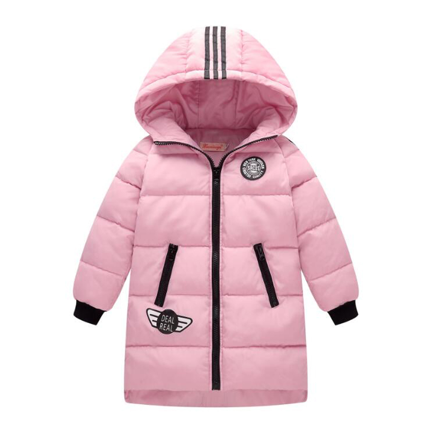 Big Girl Winter Coats Girl's Down Hooded Jacket Winter Warm Outwear Coat for Girls Kids Children Down Coats Long Clothes 2016 winter jacket girls down coat child down jackets girl duck down long flower hooded loose coats children outwear overcaot