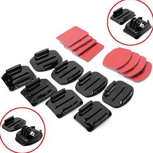 8-Pcs-Flat-Curved-Adhesive-Mount-Helmet-Accessories-for-Gopro-Hero-1-2-3-3-Kit