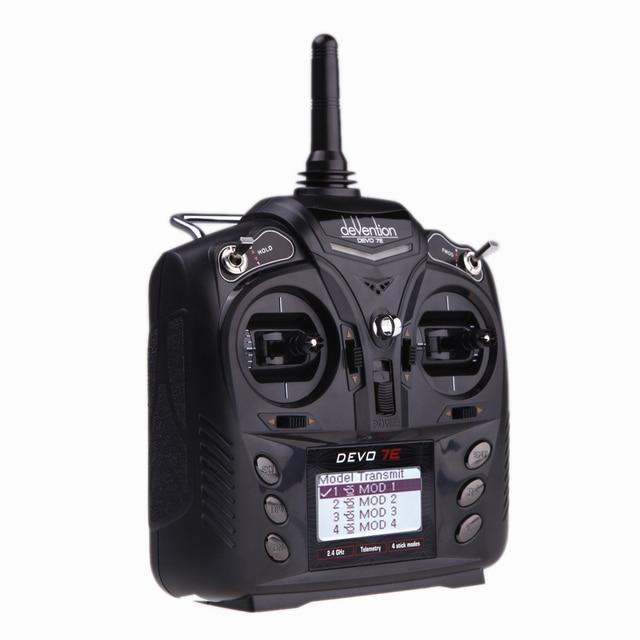 Walkera DEVO 7E 2.4G 7CH DSSS Radio Control Transmitter 2 Mode