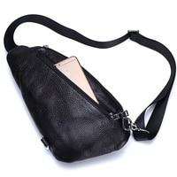 MANJIANGHONG 2017 Fashion Genuine Leather Crossbody Bags men casual messenger bag Small Brand Designer Male Shoulder Bag HZ359