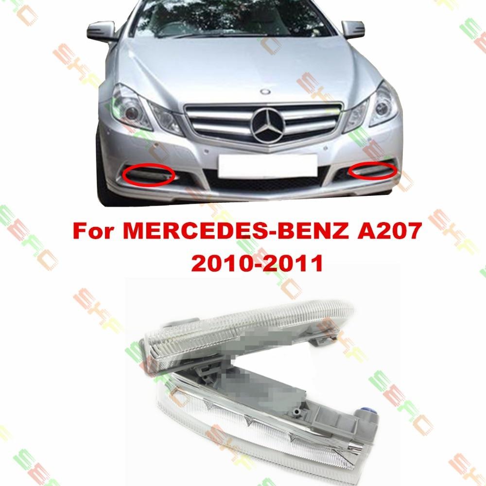 For MERCEDES-BENZ E-CLASS A207  2010-2011  car styling fog light  led Daytime running lights  1 SET turbo for mercedes benz e class m class e270 ml270 w210 w163 99 om612 2 7l gt2256v 715910 715910 5002s 715910 0002 715910 0001