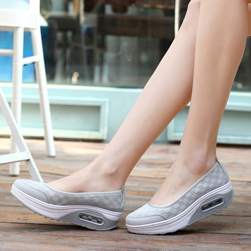 Plus Big Size Fashion Womens Shoes Flats Weighloss Sport Summer Wedges Flat Platform Ladies Zapatos Mujer Sandals Women's Shoes new 2017 spring summer women shoes pointed toe high quality brand fashion womens flats ladies plus size 41 sweet flock t179